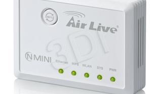 OVISLINK AirLive [ N.MINI ] Mini-AP 300Mbps 802.11b/g/n [ Nie wymaga konfiguracji ]