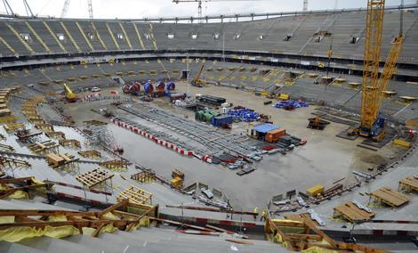 Podgląd live budowy Stadionu Narodowego w Warszawie
