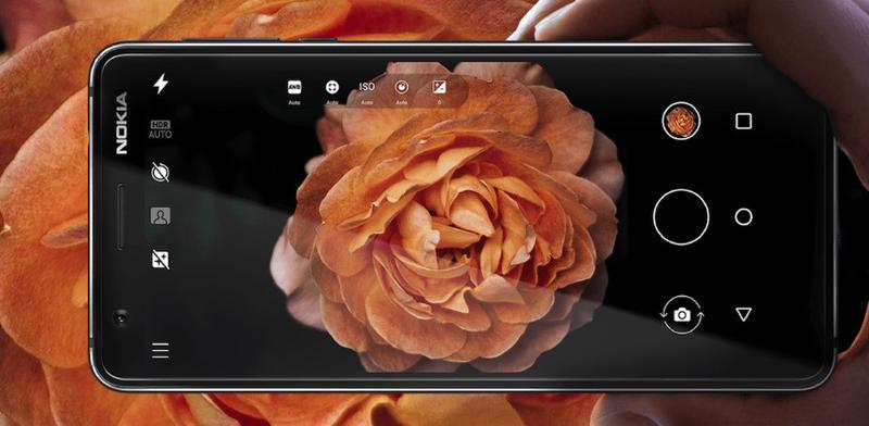 Nokia 3.1 ma dobre aparaty