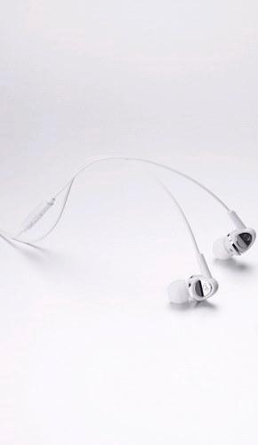 Cresyn C120s Biale Słuchawki do Smartphona z pilotem i mic.