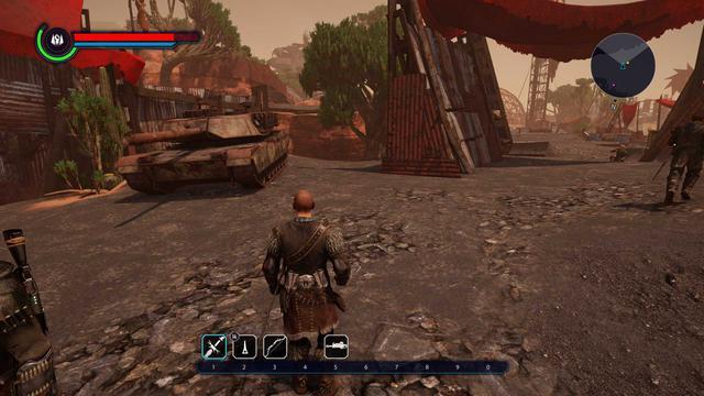 Elex - Co tutaj robi czołg?