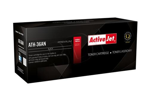 ActiveJet ATH-36AN czarny toner do drukarki laserowej HP (zamiennik 36A CB436A) Premium