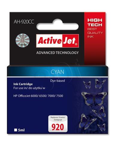 ActiveJet AH-920CC tusz cyan do drukarki HP (zamiennik HP 920 CH634A) Premium