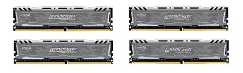 Crucial DDR4 Ballistix Sport LT 32GB/2400(4*8GB) CL16 DRx8