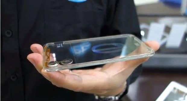 przeźroczyste smartfony - czy to możliwe?