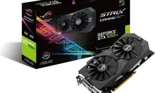 Asus GeForce GTX 1050 TI OC 4GB GDDR5 (128 Bit) 2x DVI-D, HDMI, DP, BOX (STRIX-GTX1050TI-O4G-GAMING)