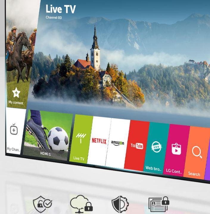 LG UHD 4K UK6100