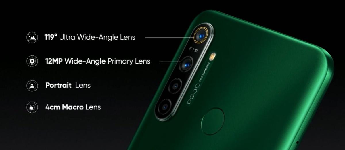 realme 5i ma cztery aparaty