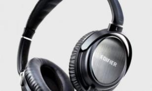 Edifier Słuchawki przewodowe nauszne H850 czarno srebrne / HighEnd / odpinany kabel słuchawkowy