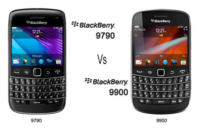 BlackBerry 9790 vs BlackBerry 9900 - porównanie smartfonów