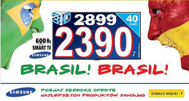 Promocja +  telewizory w super cenach