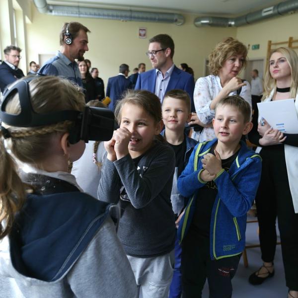 VR w polskich szkołach
