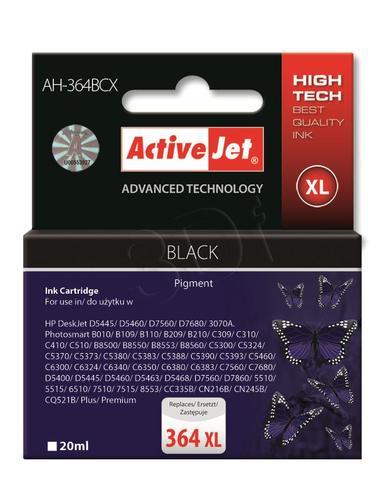 ActiveJet AH-364BCX tusz czarny do drukarki HP (zamiennik HP 364XL CN684EE) Premium