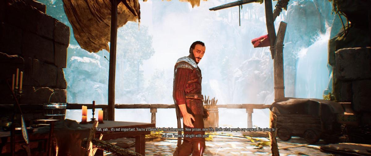 Diego w Gothic Playable Teaser