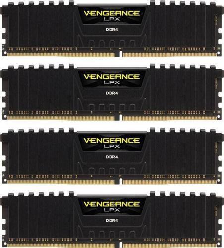 Corsair Vengeance LPX DDR4 4x16GB, 3000MHz, CL16 (CMK64GX4M4D3000C16)