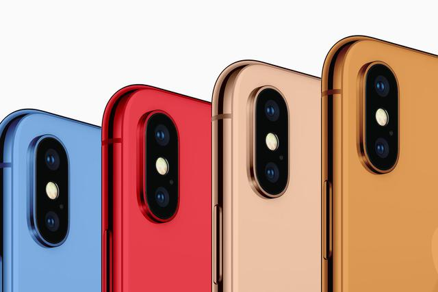 iphone x plus nowe kolory