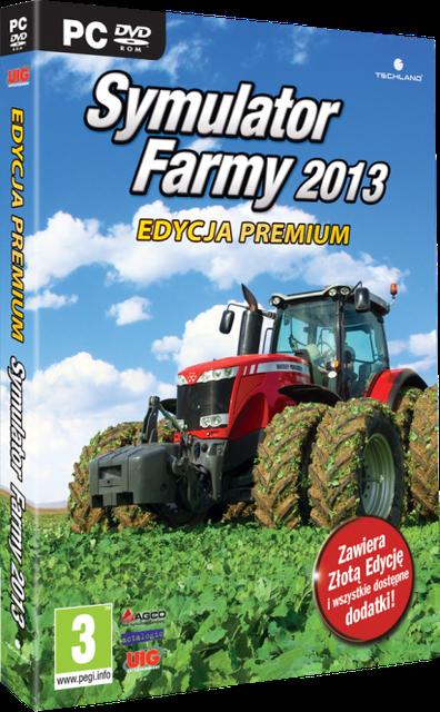 SYMULATOR FARMY 2013 edycja premium. najbogatsza wersja gry niebawem na rynku.
