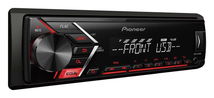 markowy radioodtwarzacz Pioneer MVH-S100UB