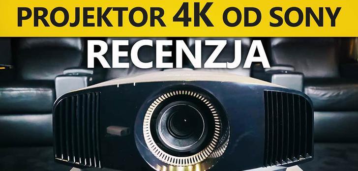Najnowszy Projektor 4K do Kina Domowego - Sony VPL-VW260