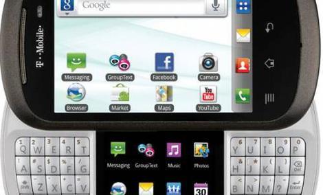 LG DoublePlay - telefon z dwoma dotykowymi ekranami i fizyczną klawiaturą