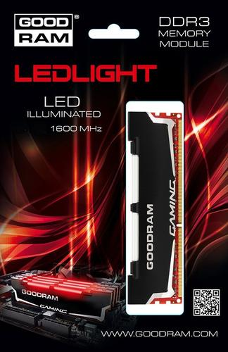 GoodRam DDR3 LED 8GB/1600 CL10-10-10-28