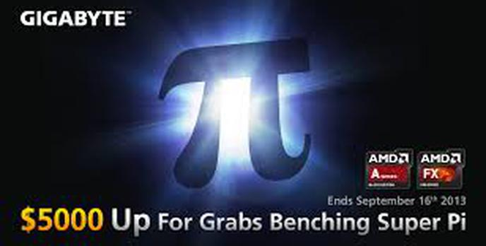 GIGABYTE wspólnie z portalem HWBOT.org ogłasza kolejny konkurs Super Pi na platformie AMD FM2 i AM3+