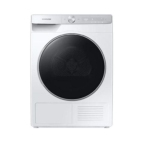 suszarka do ubrań Samsung ze srebrnym panelem