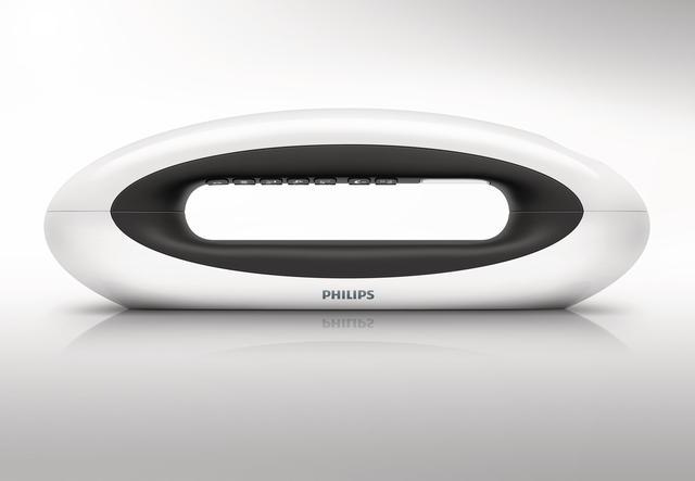 Bezprzewodowy stylowy telefon MIRA firmy Philips to elegancki dodatek do wnętrz