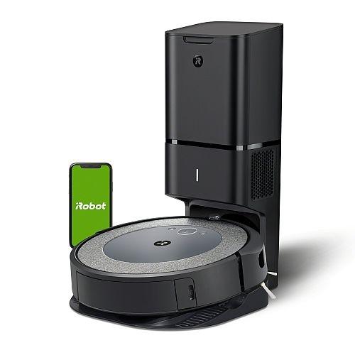 markowy odkurzacz ze stacją iRobot Roomba i3+
