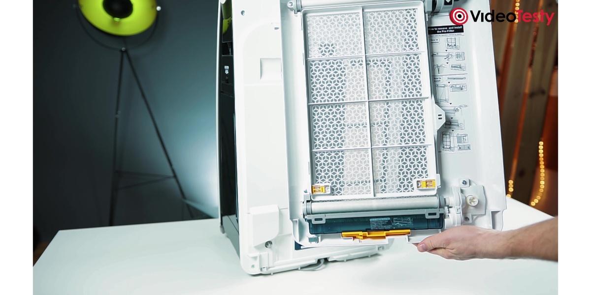 SHARP KI-G75EUW - automatyczny filtr wstępny