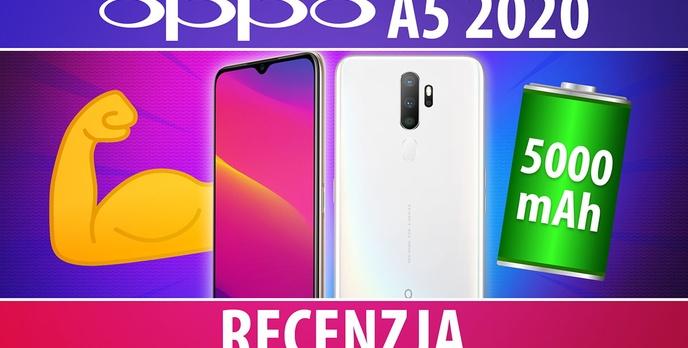 Oppo A5 2020 - Test smartfona z dużą baterią