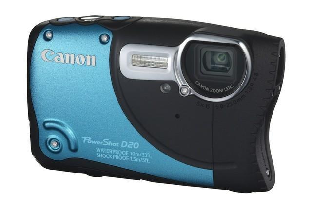 [NEWS] Stworzony dla przygody – Canon przedstawia aparat PowerShot D20