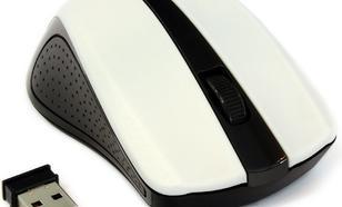 Gembird bezprzewodowa optyczna USB (MUSW-101-W) White
