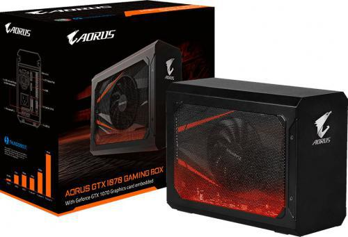 Gigabyte GeForce GTX 1070 AORUS Gaming Box 8GB GDDR5 (256 Bit) 2xDVI-D, HDMI, DisplayPort, BOX (GV-N1070IXEB-8GD)