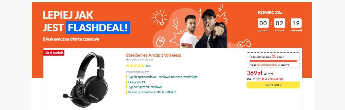 Słuchawki Steelseries w dobrej cenie