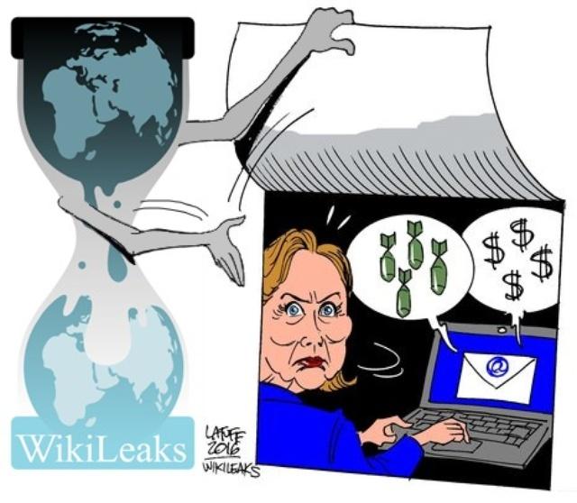 wikileaks hillary clinton