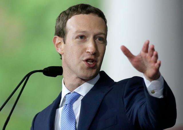 Mark Zuckerberg Pozwany