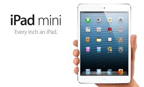Apple prezentuje iPada Mini i iPada czwartej generacji