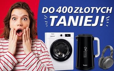 Możesz zaoszczędzić nawet 400 złotych - Limitowane dobre okazje na elektronikę!