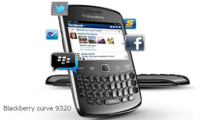 BlackBerry Curve 9320 - nowy smartfon z systemem BlackBerry 7.1