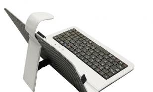 "ART Etui+klawiatura micro USB do tabletu 7"" AB-101A białe"