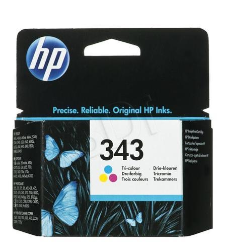HP Tusz Kolor HP343=C8766EE, 260 str., 7 ml