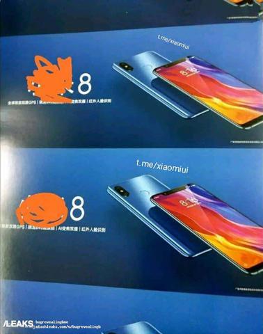 Pierwsza Grafika Xiaomi Mi 8
