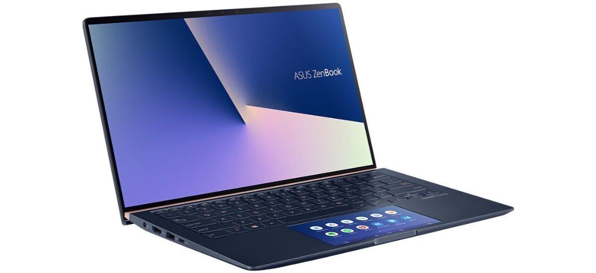 ASUS ZenBook 14 UX434 - ScreenPad 2.0