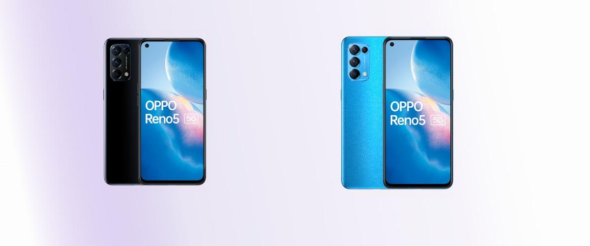 OPPO Reno5 5G pojawi się w wariancie czarnym i niebieskim