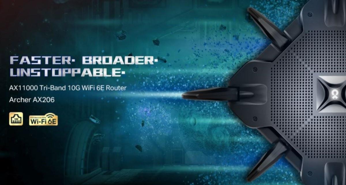 Szybki router Archer AX 206