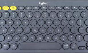 K380 Bluetooth Keyboard Grey 920-007582