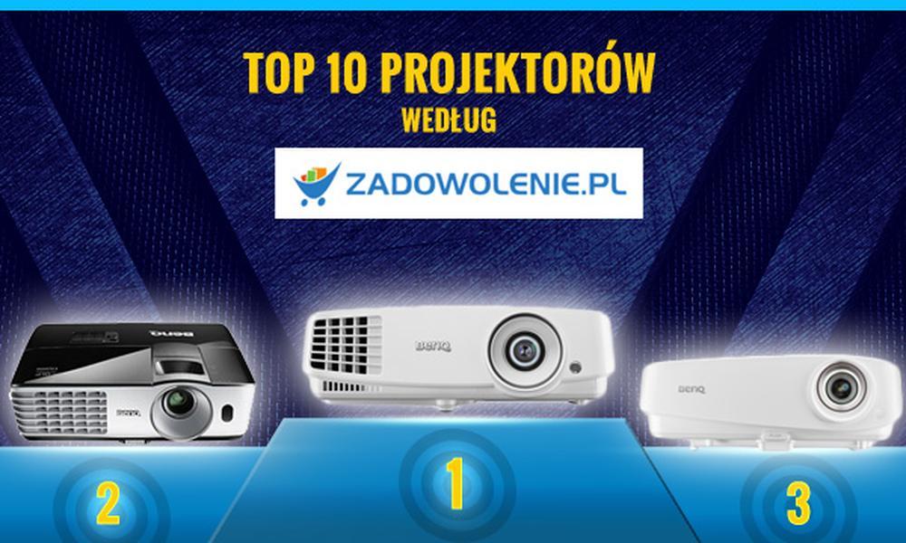 Polecane Projektory z Zadowolenie.pl - Zobacz TOPowe Modele!