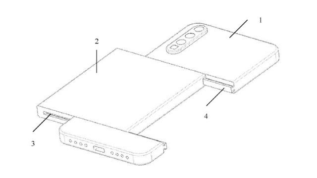 Modularny smartfon Xiaomi podzielono na trzy części