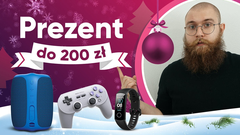 Jaki niedrogi prezent na święta do 200 złotych? Audio, gadżety i nie tylko!